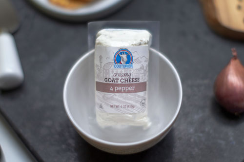 Couturier 4 Pepper Goat Cheese Log