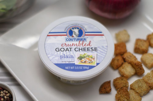 Couturier Plain Crumbled Goat Cheese