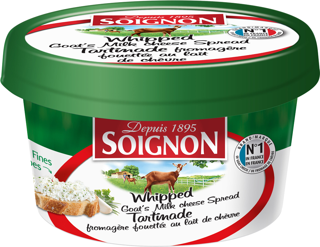 Soignon Goat Cheese Whips package